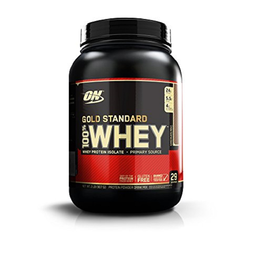 مكمل اوبتيموم نيوترشن واي بروتين -Optimum Nutrition Gold Standard