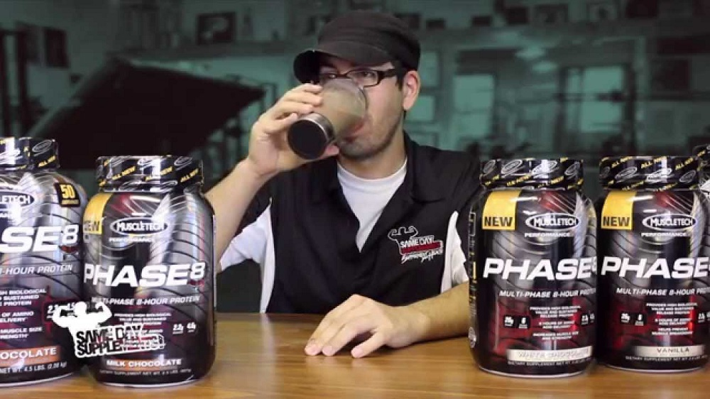 مكمل ماصل تك -MuscleTech Phase 8