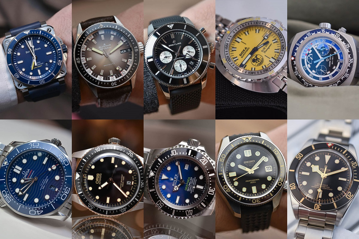 "ساعات الغوص ""Dive watches"""