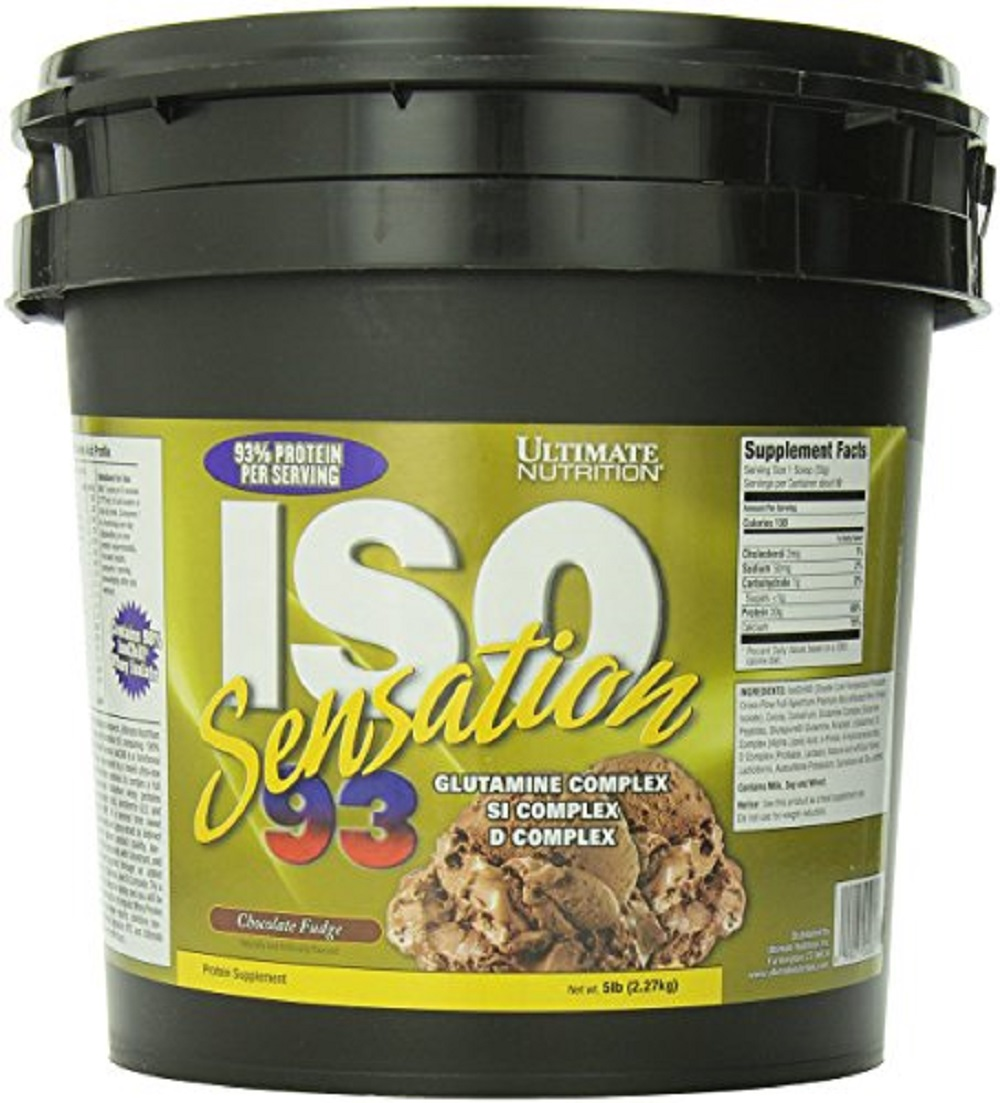 -مكمل ألتميت نيوترشن-Ultimate Nutrition ISO Sensation 93