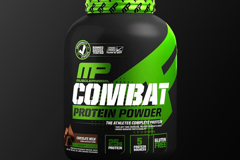 مكمل ماصل فارم كومبات باودر-MusclePharm Combat Powder