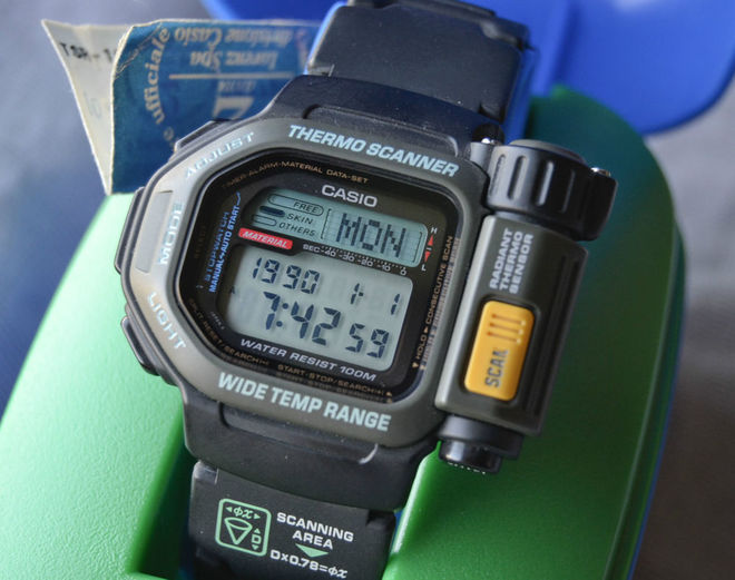 12 for Thermo scanner watch
